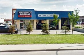 Windshield Surgeons North Edmonton Location