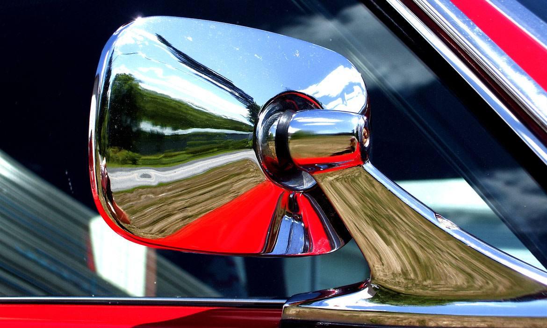 Shiny Car Mirror