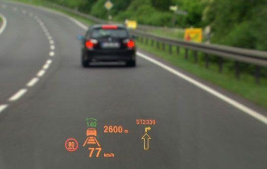 Windshield Heads Up Display