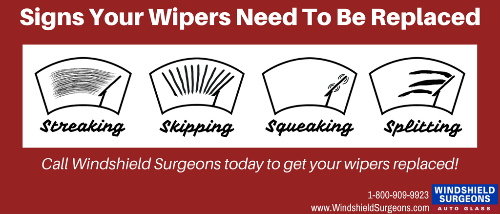 When to replace your windshield wipers infographic