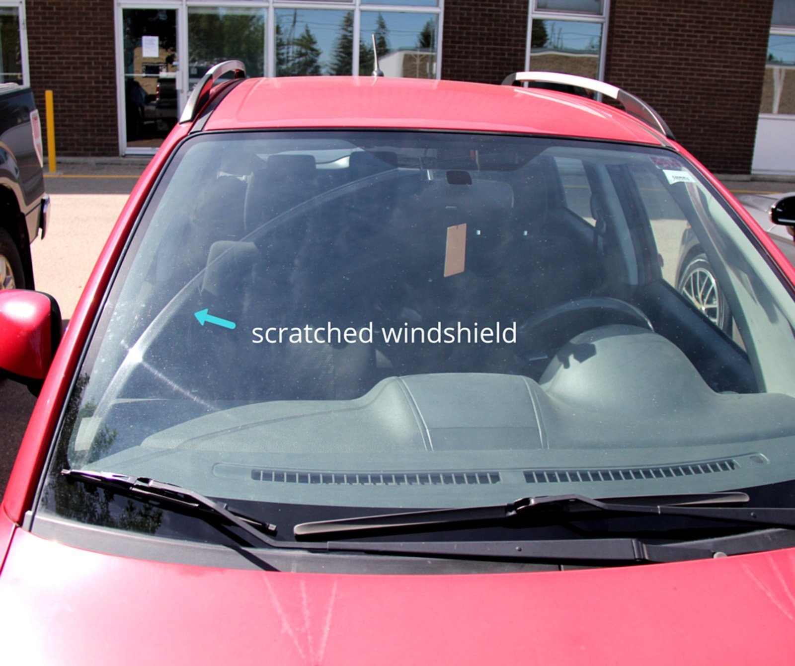 Windshield Surgeons Nano Coating on Windshield