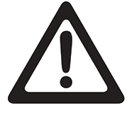 warning symbol transparent